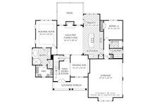 Cottage Floor Plan - Main Floor Plan Plan #927-14