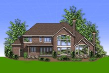 Home Plan - European Exterior - Rear Elevation Plan #48-618
