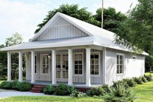 Dream House Plan - Traditional Exterior - Front Elevation Plan #44-245