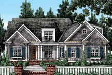 Country Exterior - Front Elevation Plan #927-403