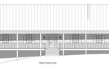 Country Exterior - Front Elevation Plan #932-308