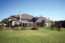 Architectural House Design - Country Exterior - Rear Elevation Plan #952-182