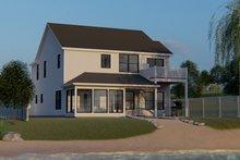 House Plan Design - Craftsman Exterior - Rear Elevation Plan #1064-95