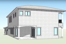 Country Exterior - Rear Elevation Plan #938-15