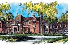 Home Plan Design - European Exterior - Front Elevation Plan #1016-59