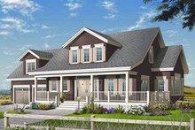Farmhouse Exterior - Front Elevation Plan #23-729