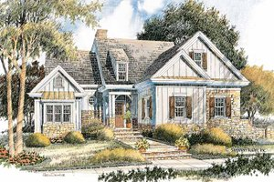 Bungalow Exterior - Front Elevation Plan #429-367