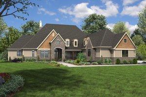 Craftsman Exterior - Front Elevation Plan #48-701