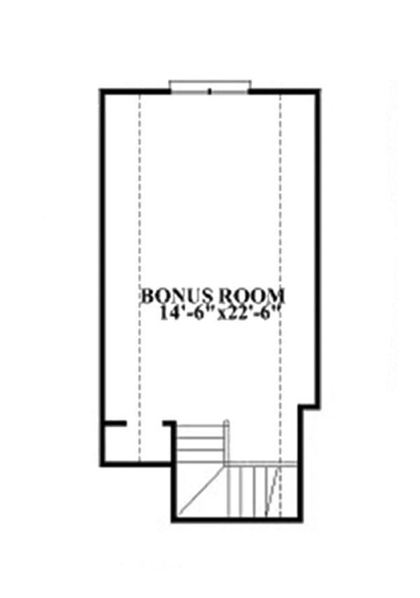 Colonial Floor Plan - Other Floor Plan Plan #991-26
