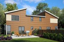 Modern Exterior - Rear Elevation Plan #48-928
