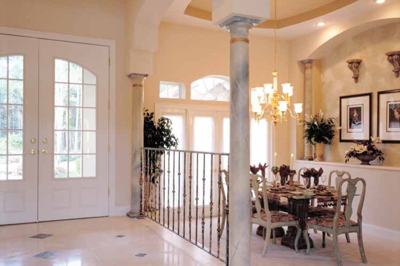 European Interior - Dining Room Plan #417-629 - Houseplans.com