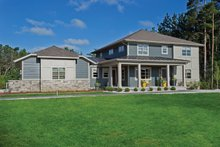 Home Plan - Contemporary Exterior - Front Elevation Plan #928-273