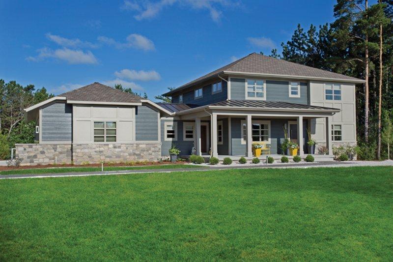 House Plan Design - Contemporary Exterior - Front Elevation Plan #928-273