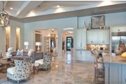 Mediterranean Style House Plan - 3 Beds 3.5 Baths 3433 Sq/Ft Plan #930-444 Interior - Entry