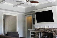 Home Plan Design - Great Room
