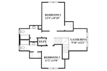 Country Floor Plan - Other Floor Plan Plan #991-31