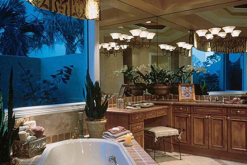 Mediterranean Interior - Bathroom Plan #930-190 - Houseplans.com