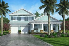 Cottage Exterior - Front Elevation Plan #938-89