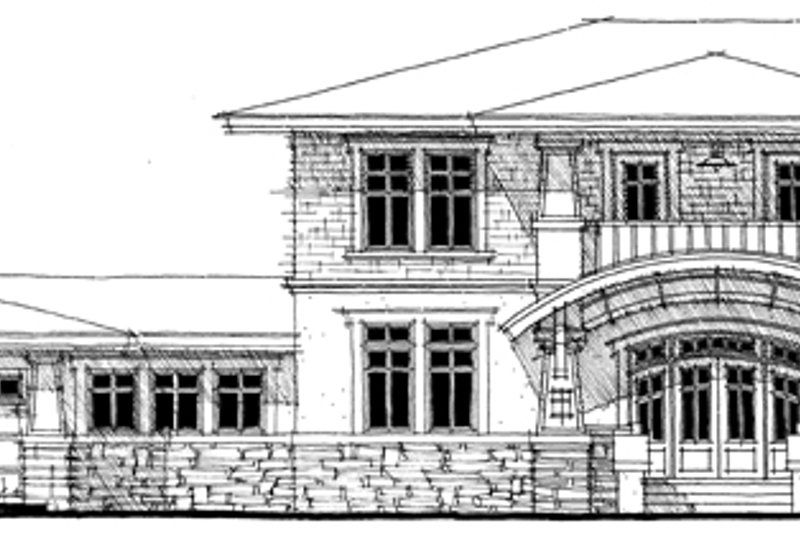 Traditional Exterior - Front Elevation Plan #64-269 - Houseplans.com