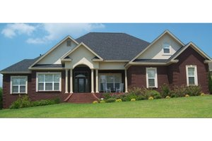 Dream House Plan - Traditional Exterior - Front Elevation Plan #63-197
