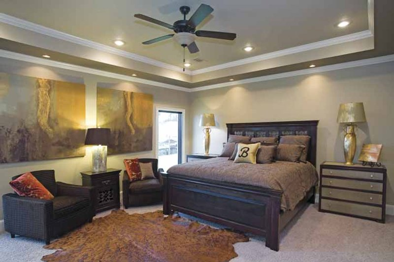 Country Interior - Master Bedroom Plan #17-2682 - Houseplans.com