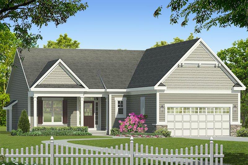 House Plan Design - Ranch Exterior - Front Elevation Plan #1010-178