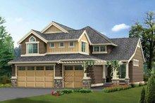 Dream House Plan - Craftsman Exterior - Front Elevation Plan #132-297