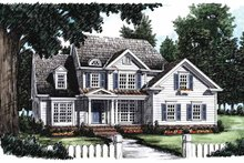 Architectural House Design - Country Exterior - Front Elevation Plan #927-626