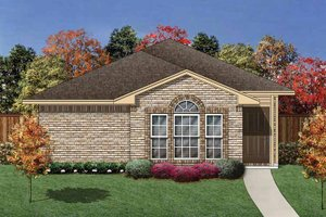 Ranch Exterior - Front Elevation Plan #84-658