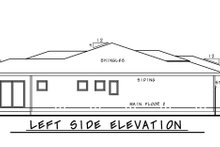 Dream House Plan - Contemporary Exterior - Other Elevation Plan #20-2439