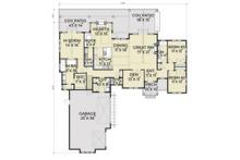 Farmhouse Floor Plan - Main Floor Plan Plan #1070-4