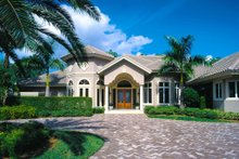 House Plan Design - Mediterranean Exterior - Front Elevation Plan #930-100