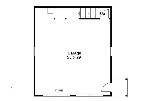 Country Floor Plan - Main Floor Plan #124-993