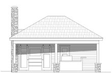 Dream House Plan - Country Exterior - Front Elevation Plan #932-114