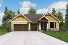 Craftsman Exterior - Front Elevation Plan #48-972