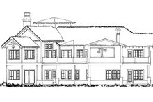 Ranch Exterior - Rear Elevation Plan #942-31