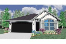 House Plan Design - Traditional Exterior - Front Elevation Plan #509-179
