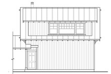 Country Exterior - Rear Elevation Plan #124-1098