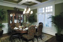 Architectural House Design - Colonial Interior - Dining Room Plan #930-220