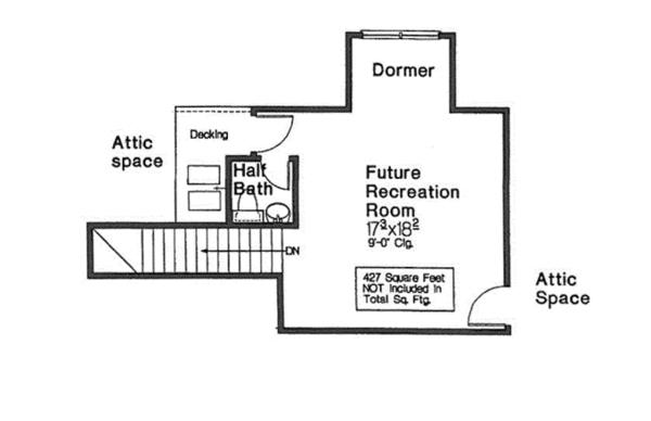 European Floor Plan - Other Floor Plan Plan #310-1278