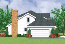 House Blueprint - Country Exterior - Other Elevation Plan #72-1078