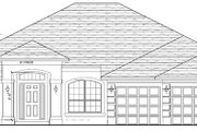 Traditional Style House Plan - 4 Beds 3 Baths 2508 Sq/Ft Plan #1058-48 Exterior - Front Elevation