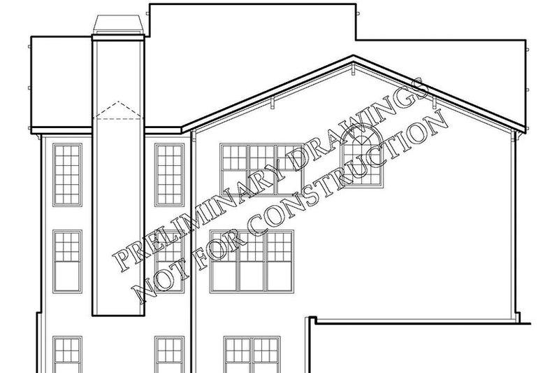 Craftsman Exterior - Rear Elevation Plan #927-165 - Houseplans.com