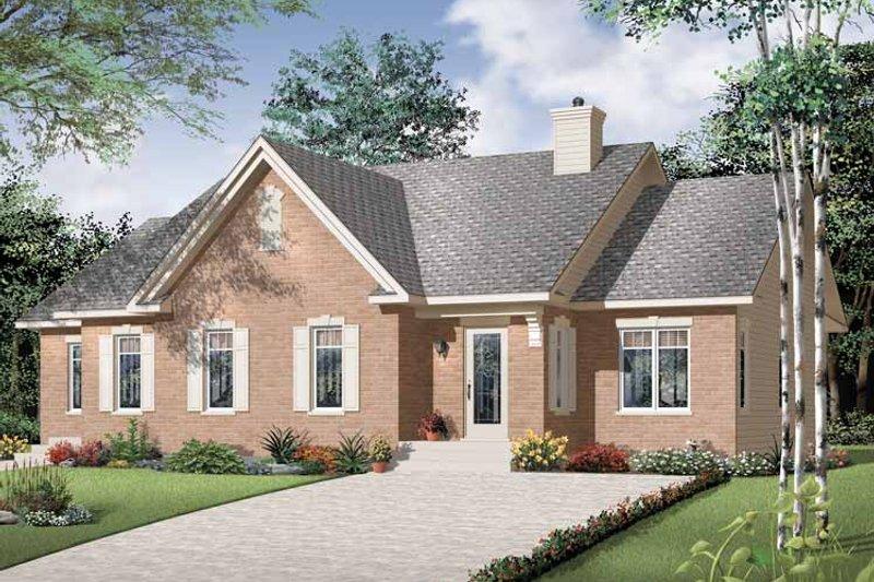Craftsman Exterior - Front Elevation Plan #23-2394 - Houseplans.com