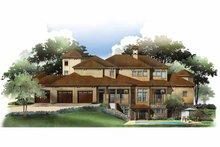 Home Plan - Mediterranean Exterior - Rear Elevation Plan #952-210