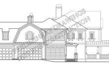 Classical Exterior - Other Elevation Plan #927-845