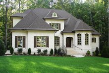 Country Exterior - Front Elevation Plan #927-502