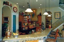 Mediterranean Interior - Kitchen Plan #417-748