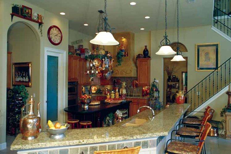 Mediterranean Interior - Kitchen Plan #417-748 - Houseplans.com
