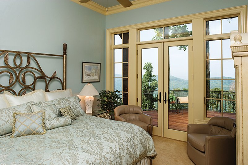 European Interior - Bedroom Plan #929-894 - Houseplans.com